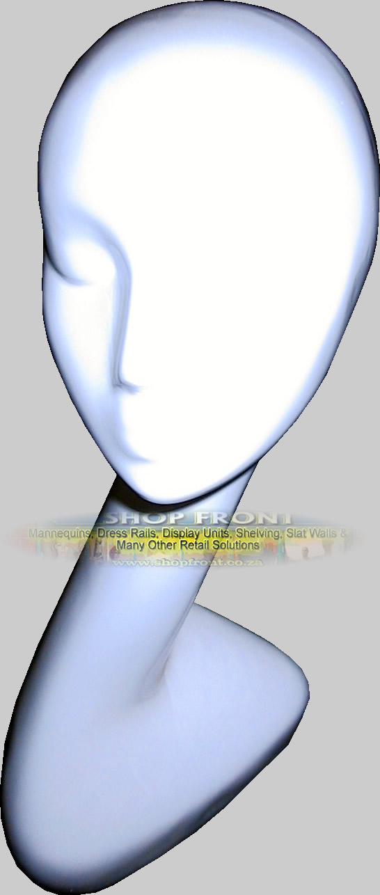 White Mode Head Fibreglass