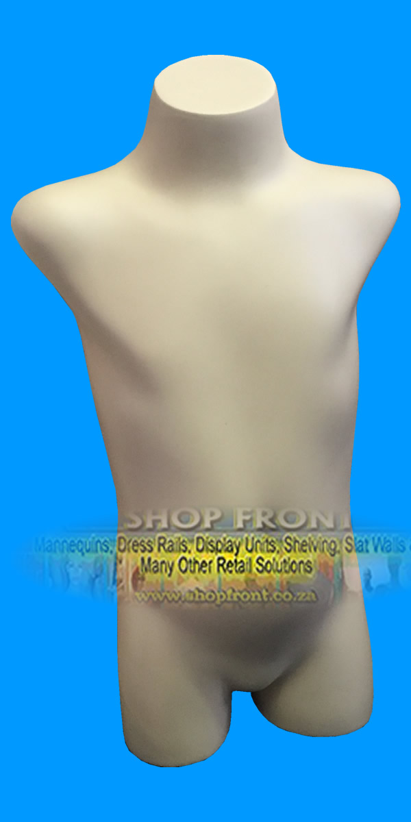 Kids Mannequin Torso No Arms