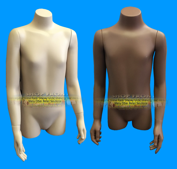 Kids Mannequin Torso With Arms