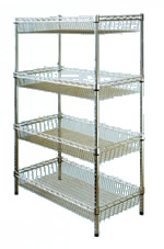 Shelving Shopfront Display Equipment Shopfitting