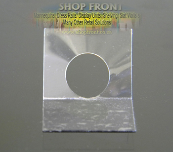 Roun Hole Merchandising Display Tags For Peg Hooks