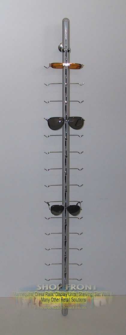 Wall Mounted Sunglass / Spectacles Stand Lockable